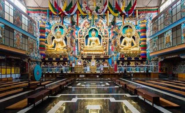 मैसूर सिटी का पर्यटन स्थल बाइलाकुप्पे - Mysore City Ka Paryatan Sthan Bylakuppe In Hindi