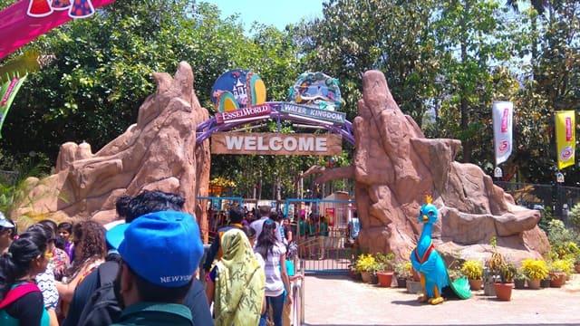 ठाणे सिटी का एंटरटेनिंग पार्क एस्सेल वर्ल्ड - Thane City Ka Entertaining Park Essel World In Hindi
