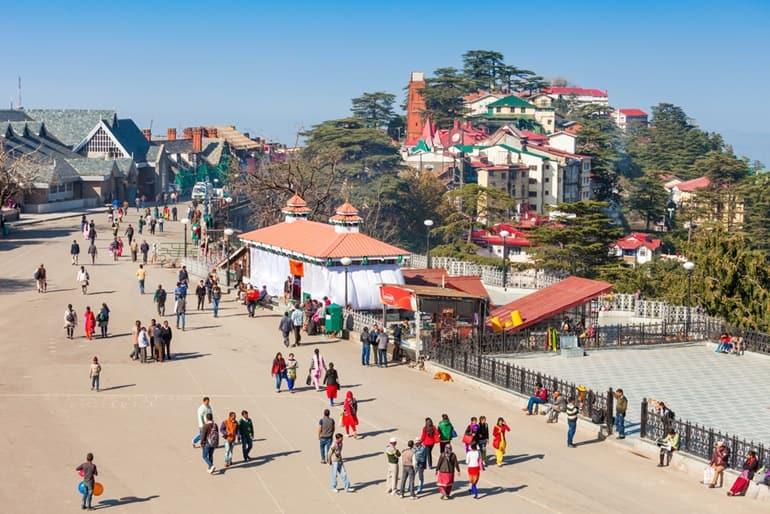 माल रोड शिमला की यात्रा करने का सबसे अच्छा समय