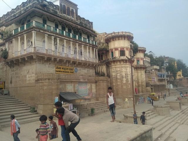 गंगा महल घाट वाराणसी उत्तर प्रदेश - Ganga Mahal Ghat Banaras Uttar Pradesh In Hindi