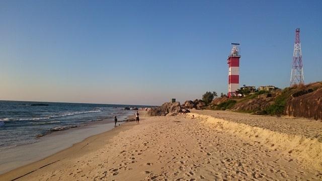 मैंगलोर का टूरिस्ट प्लेस सुरथकल बीच - Mangalore Ka Tourist Place Surathkal Beach In Hindi