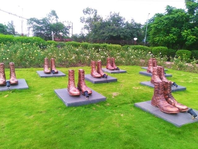 भोपाल शहर दर्शनीय स्थान शौर्य स्मारक - Bhopal City Ka Darshaniya Sthan Shouray Smark In Hindi
