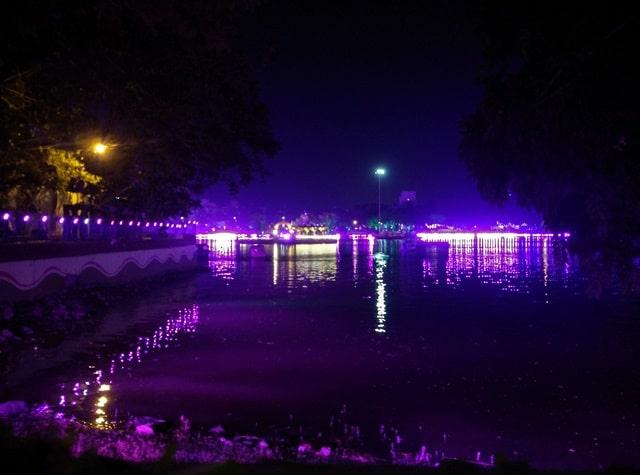ठाणे के आकर्षण स्थल उपवन झील - Thane Ke Aakarshan Sthan Mashoor Jheel Upvan Lake In Hindi