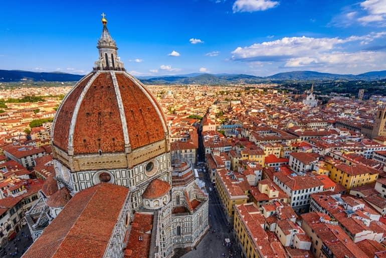 इटली का दर्शनीय स्थल सांता मारिया डेल फियोर फ्लोरेंस