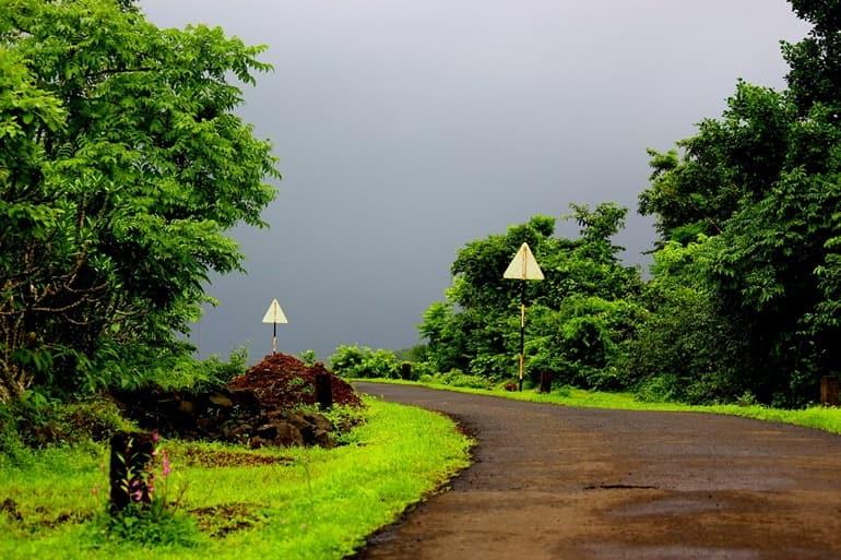 सड़क मार्ग से त्रिलोकपुर मंदिर कैसे पहुंचे