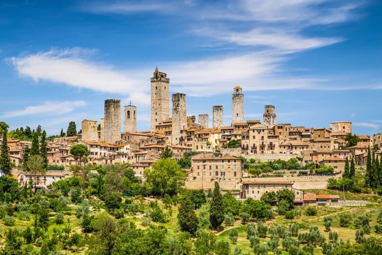 इटली पर्यटन में देखने लायक जगह सेन जिमिग्नानो