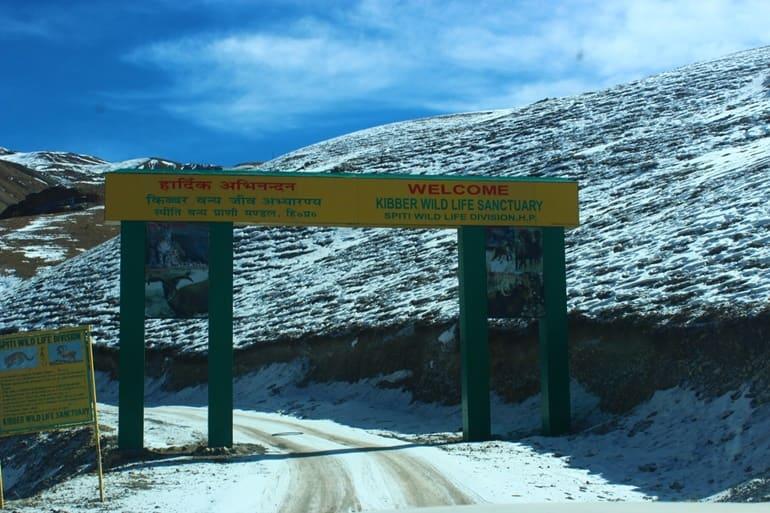 किब्बर टूरिज्म में घूमे किब्बर वन्यजीव अभयारण्य