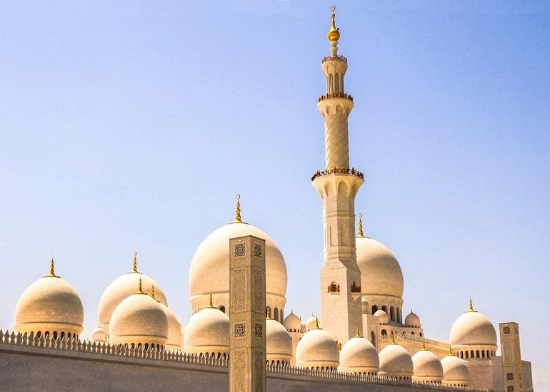दुबई की ग्रैंड मस्जिद