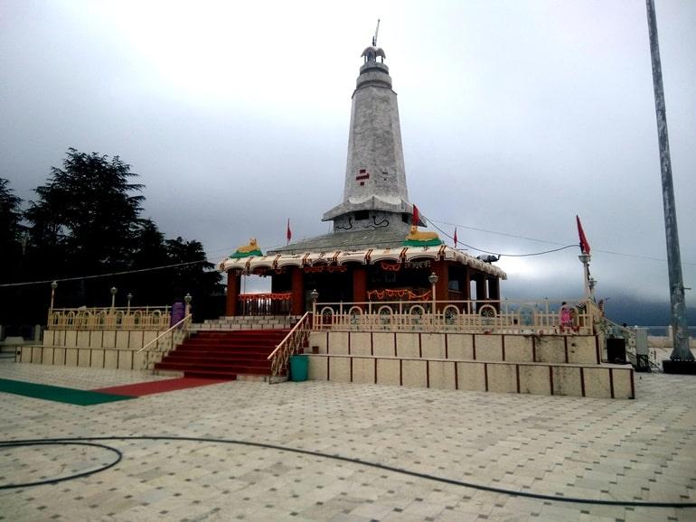 सिरमौर के पर्यटन स्थल हरिपुर धार