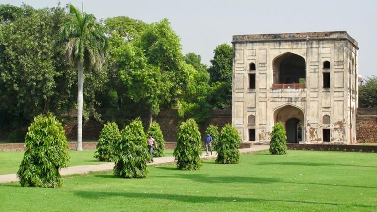 बू हलीमा का मकबरा और उद्यान