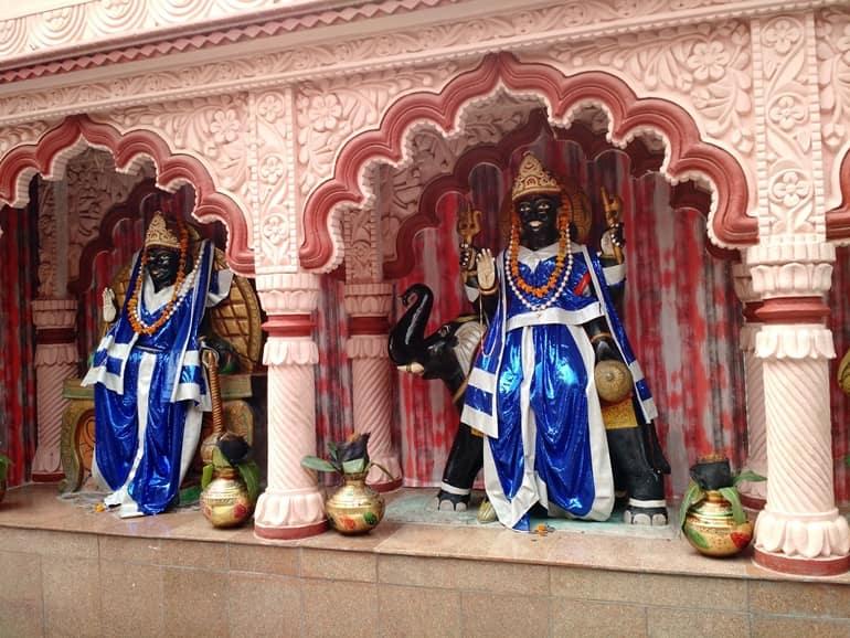 दिल्ली के शनिधाम मंदिर में मनाये जाने वाले उत्सव
