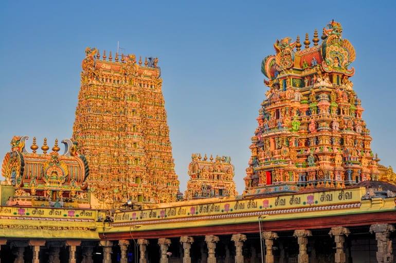 मीनाक्षी मंदिर का इतिहास