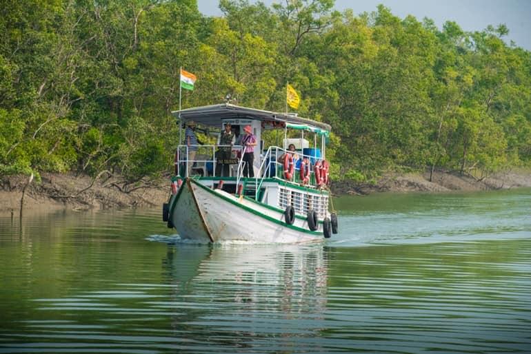 सुंदरवन नेशनल पार्क बोट सफारी