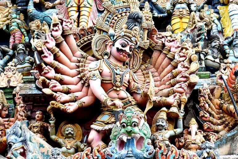 मीनाक्षी मंदिर की कहानी या पौराणिक कथा
