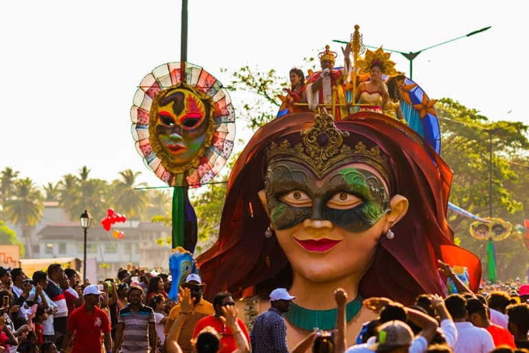 गोवा में फ्री में गोवा कार्निवाल फेस्टिवल में एन्जॉय करे