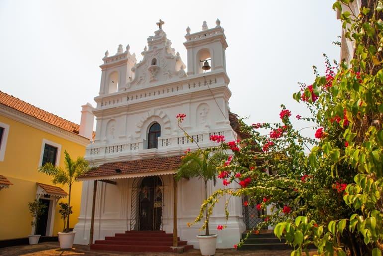 गोवा में चर्च की खोज