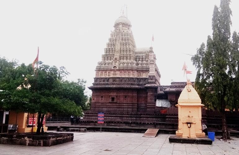 घृष्णेश्वर ज्योतिर्लिंग मंदिर की संरचना