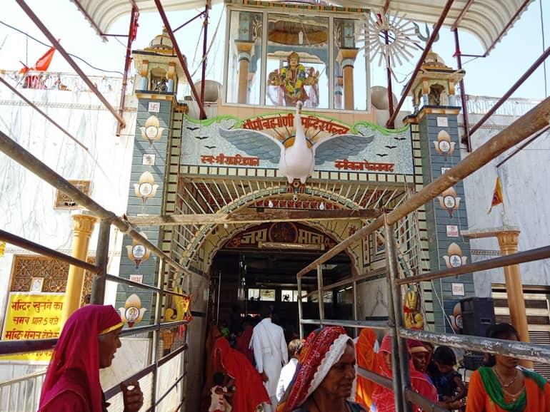 हनुमानगढ़ के दर्शनीय स्थल ब्राह्मणी माता मंदिर