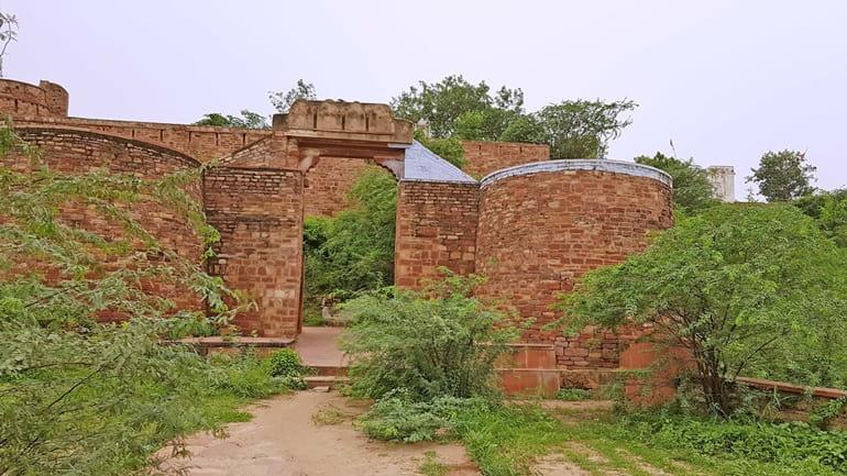 शेरगढ़ किले का इतिहास