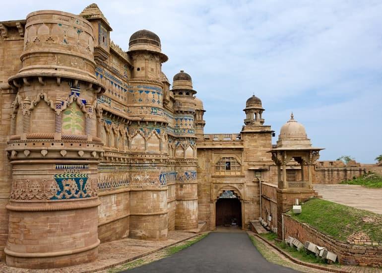 भारत का सबसे खुबसूरत किला ग्वालियर का किला