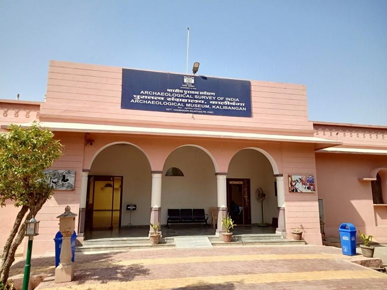 हनुमानगढ़ में घूमने लायक जगह कालीबंगन पुरातत्व संग्रहालय