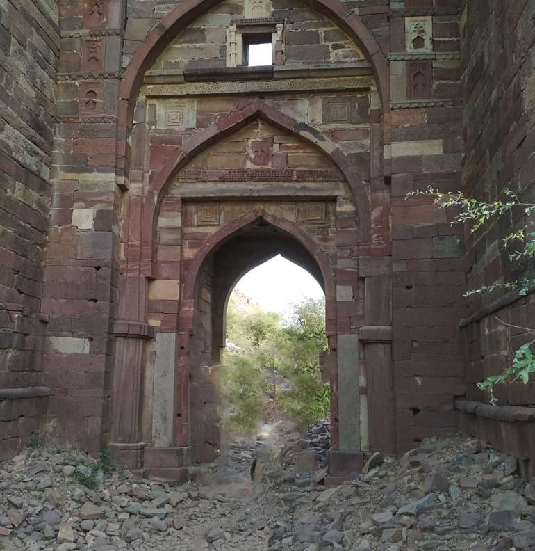 तिमनगढ़ किले की वास्तुकला