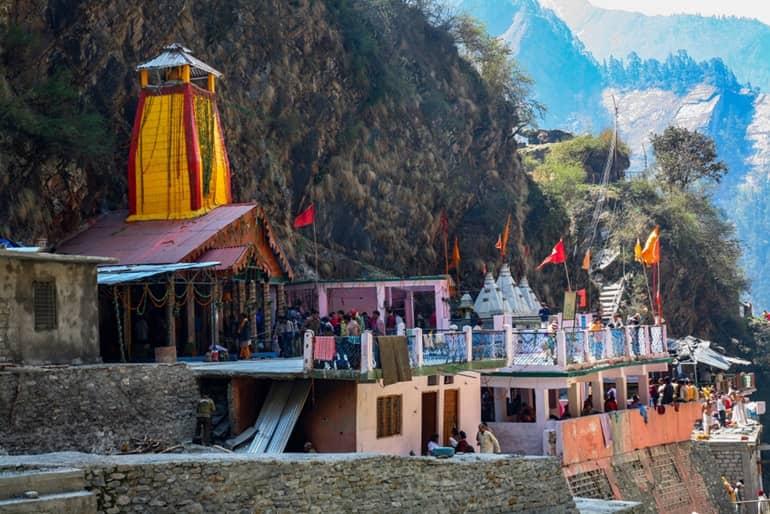 यमुनोत्री मंदिर की जानकारी