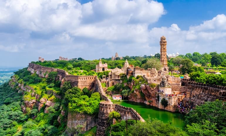 भारत का प्रमुख किला चित्तौड़गढ़ किला