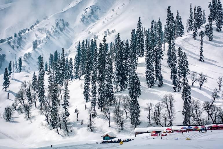 सर्दियों में घूमने के लिए भारत में प्रमुख पर्यटन स्थल जम्मू और कश्मीर