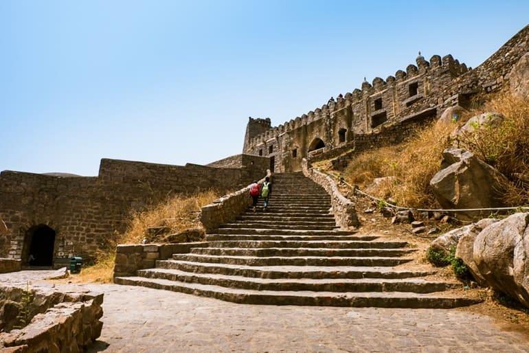 भारत का ऐतिहासिक किला गोलकोंडा किला
