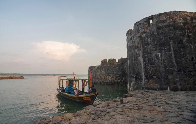 सिंधुदुर्ग किले की वास्तुकला