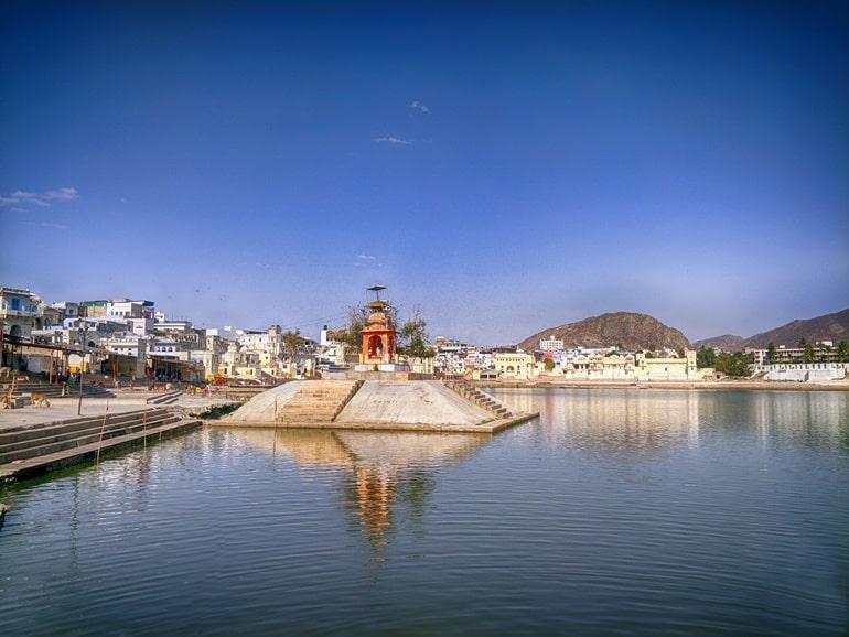पुष्कर झील के प्रमुख आकर्षण