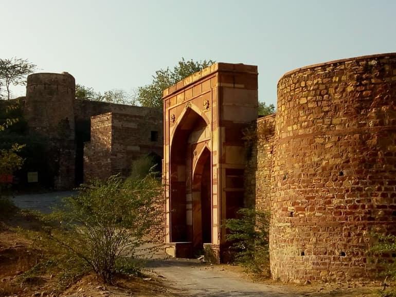 शेरगढ़ किले की वास्तुकला