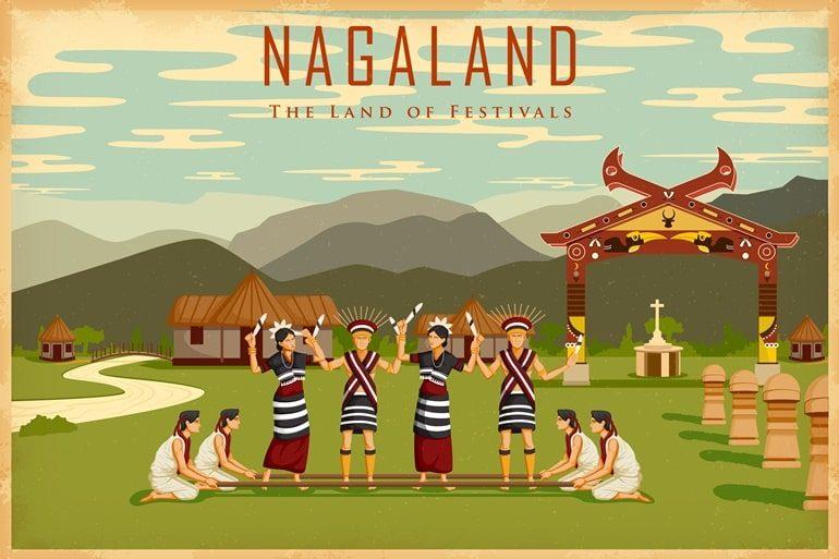 नागालैंड राज्य के इतिहास से लेकर संस्कृति के बारे में पूरी जानकारी - Nagaland In Hindi