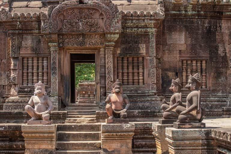 अंकोरवाट के मंदिर की वास्तुकला