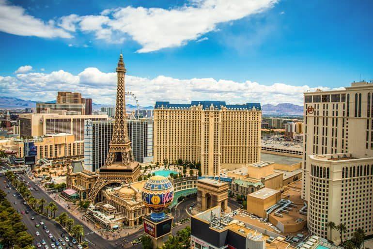 लॉस वेगास के टॉप 10 पर्यटन स्थल - Las Vegas In Hindi