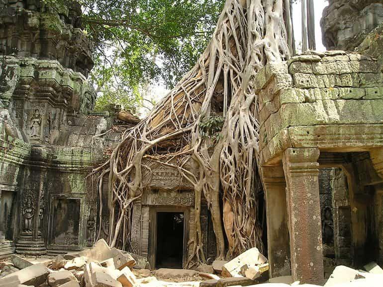 अंगकोर वाट मंदिर का इतिहास