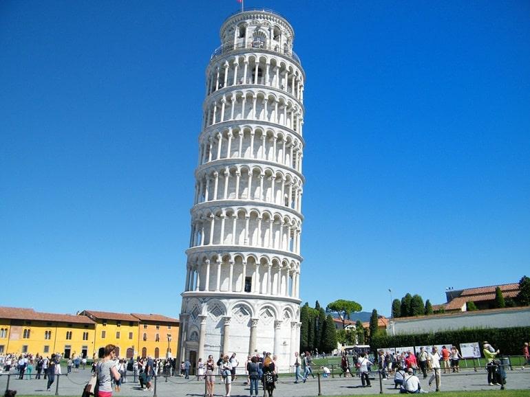 पीसा की झुकी हुई टावर के बारे में रोचक तथ्य