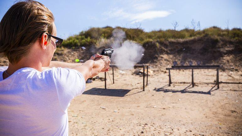 लास वेगास में देखने लायक जगह शूटिंग रेंज
