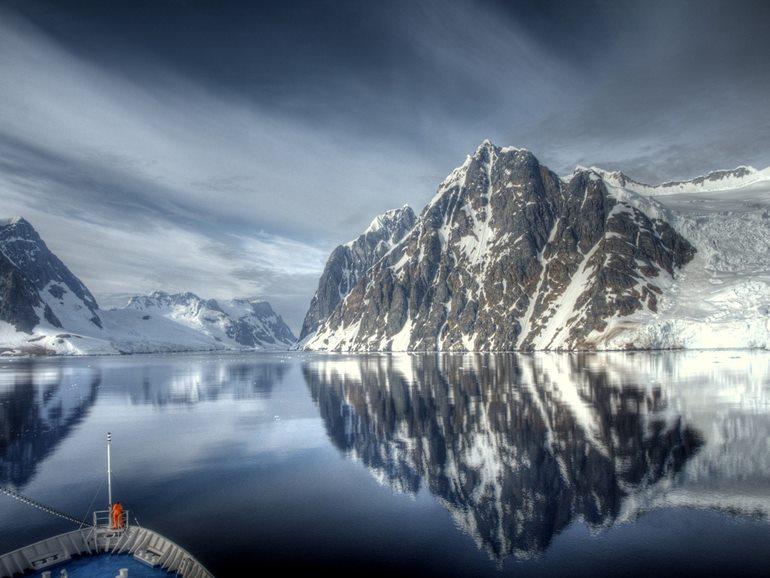 अंटार्कटिका का लोकप्रिय पर्यटन स्थल ड्रेक पैसेज