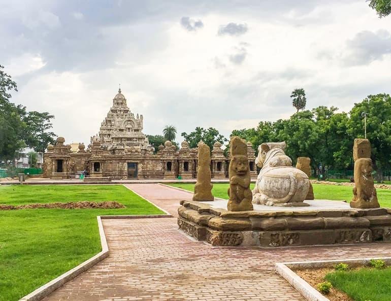 कांची कैलासन्तर मंदिर कांचीपुरम