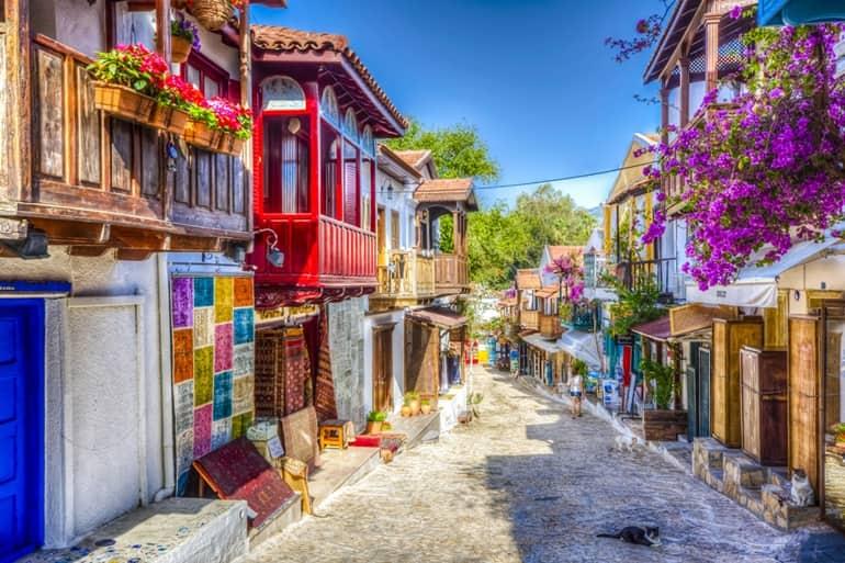 तुर्की का आकर्षण स्थल कास