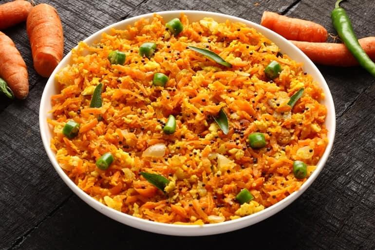 गाजर पोरियाल