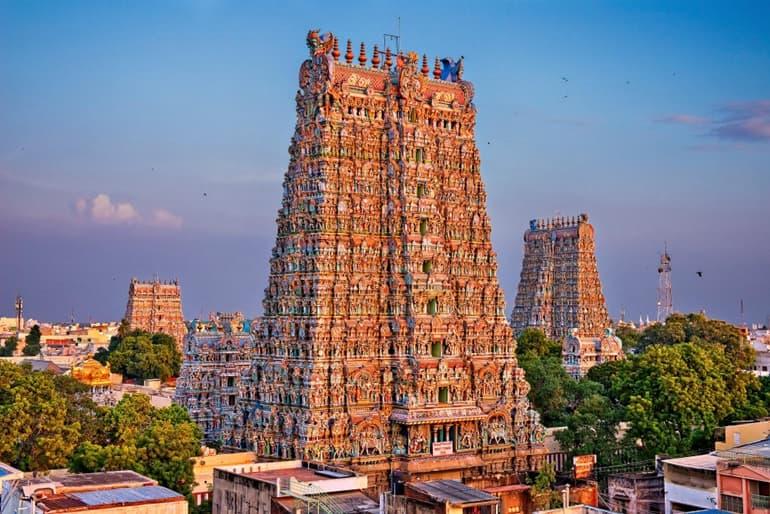 मीनाक्षी मंदिर मदुरै