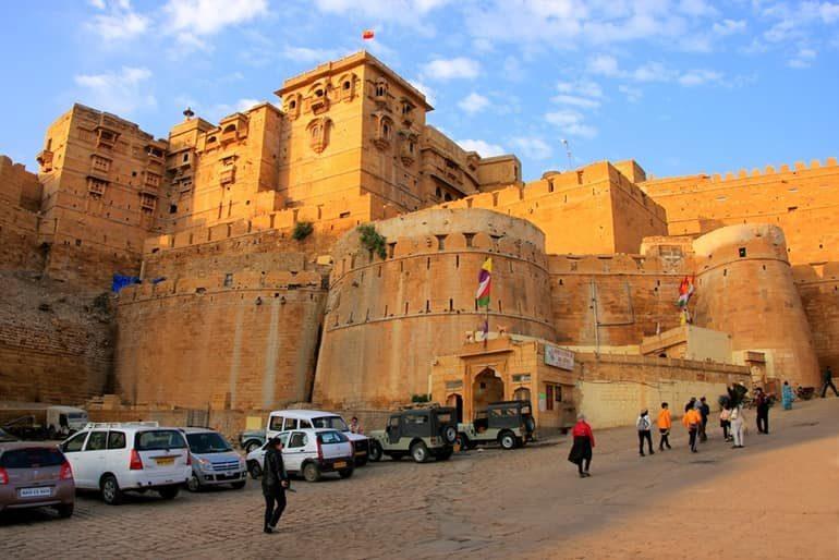 जैसलमेर किले के बारे में रोचक जानकारी - Jaisalmer Fort In Hindi