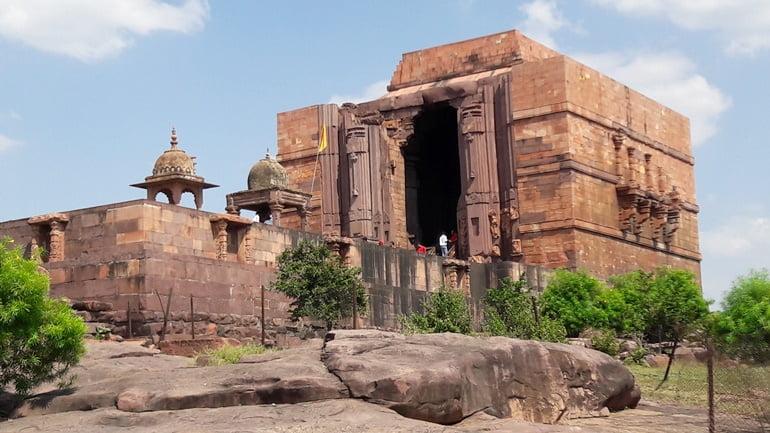 भोजेश्वर मंदिर की संरचना