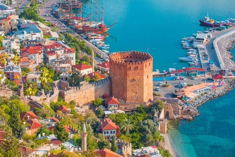 तुर्की का दर्शनीय स्थल अंताल्या