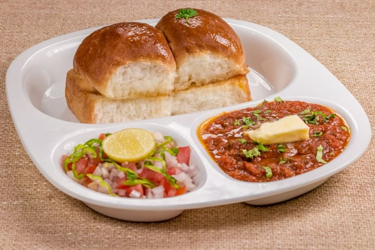 भारत का प्रसिद्ध व्यंजन पाव भाजी