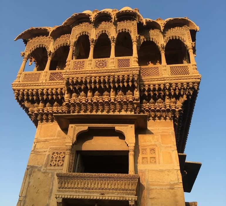 सलीम सिंह की हवेली की वास्तुकला