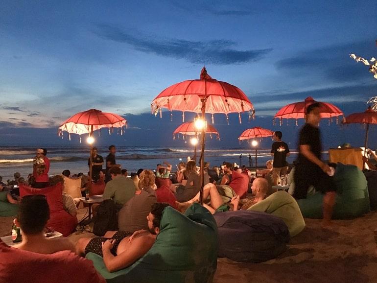 बाली का आकर्षण स्थल सेमिनिअक बाली